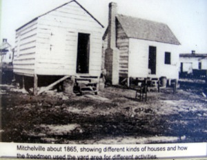 Simple housing for the freedmen on Hilton Head