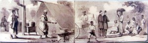 Freedmen living on Hilton Head Island in 1862